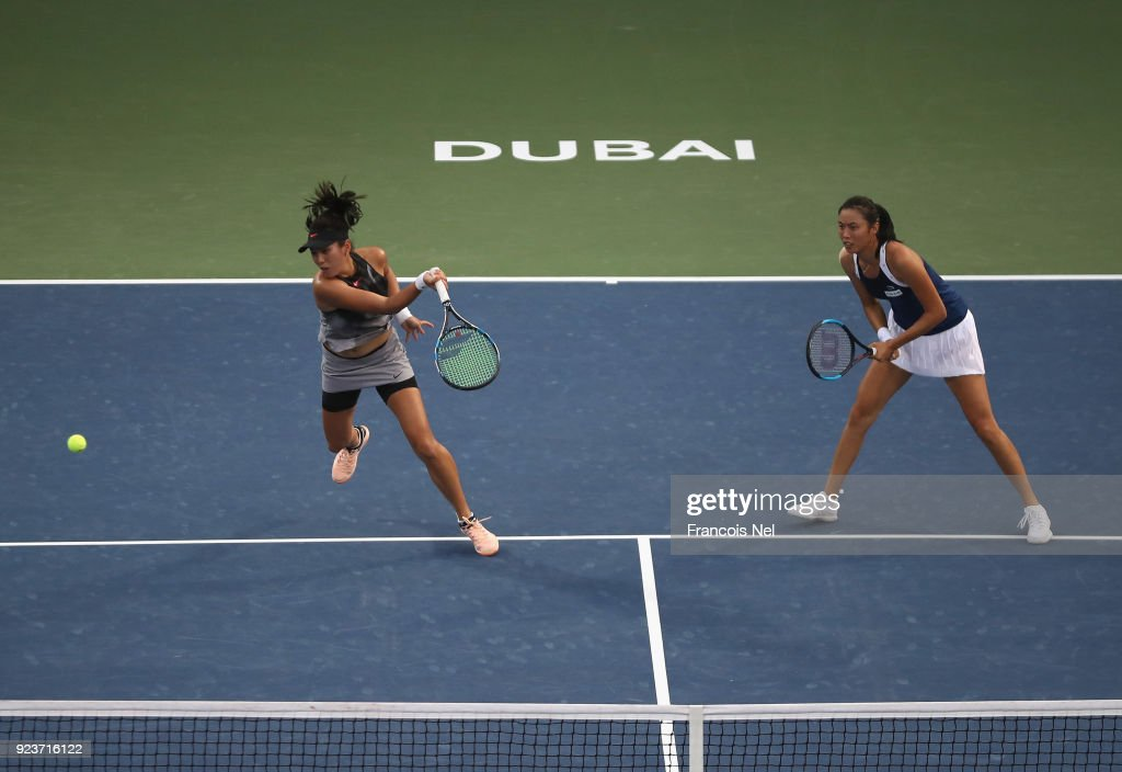 WTA Dubai Duty Free Tennis  Championship - Day Six
