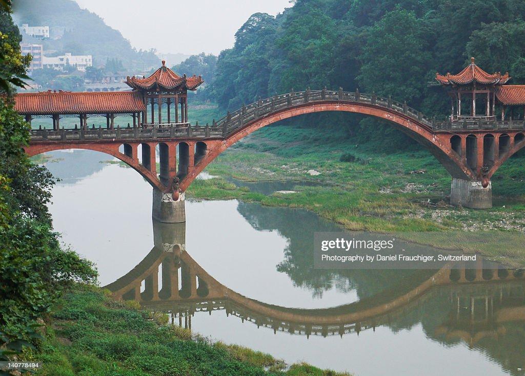Haoshang Bridge : Stockfoto