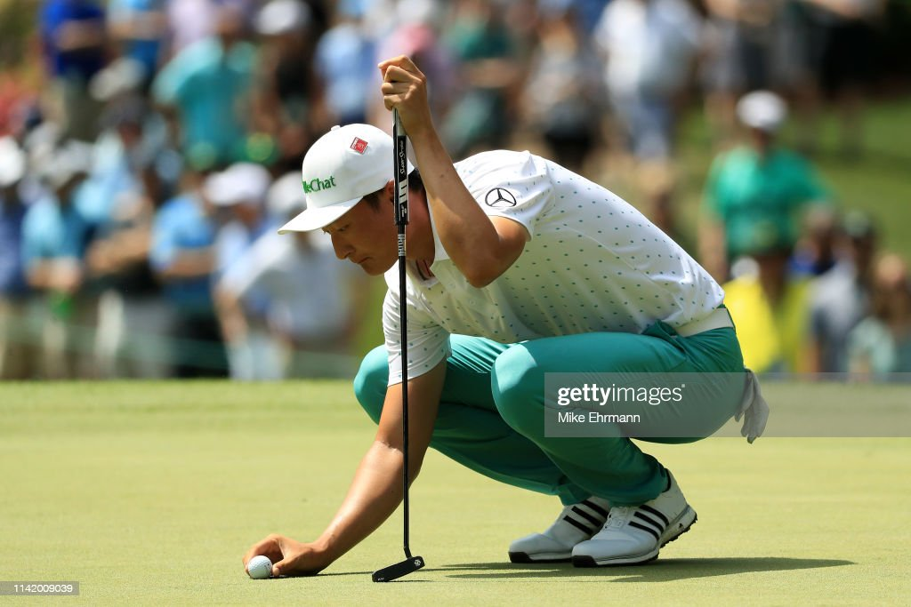 The Masters - Round One : ニュース写真