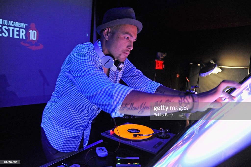 DJ Hapa attends the Scratch DJ Academy Semester 10th Anniversary at Canal Room on January 15, 2013 in New York City.