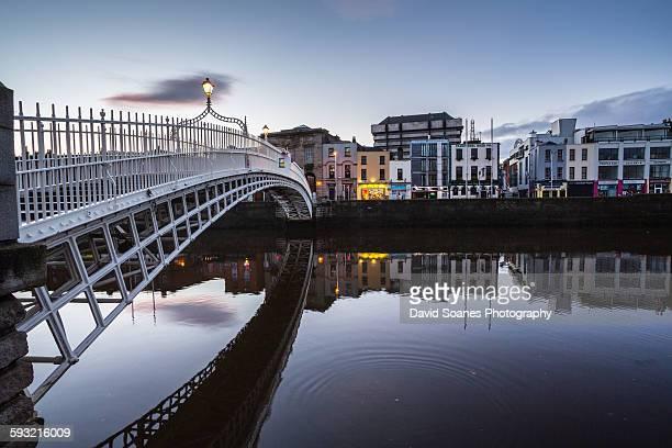Ha'penny Bridge, Dublin City, Ireland