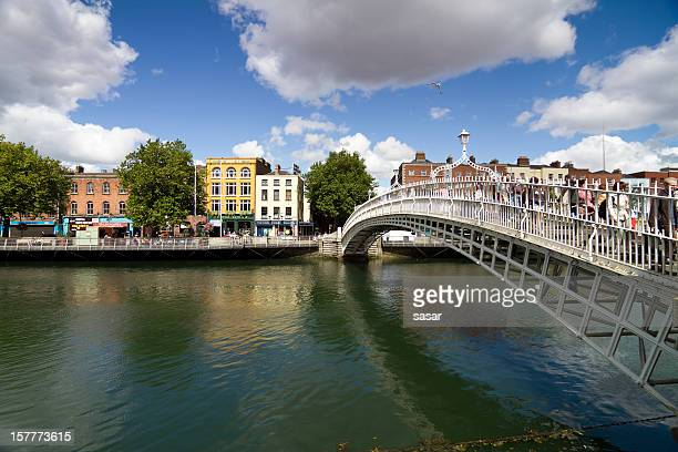 Ha'Penny bridge Dublin Ireland