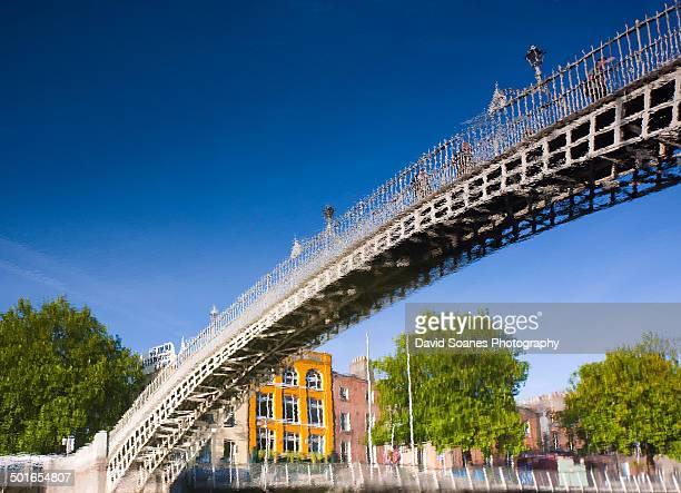Ha'penny bridge reflections