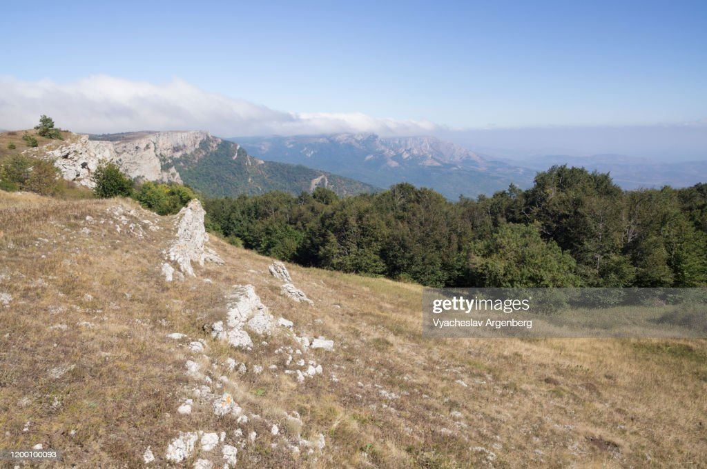 Hapkhal Canyon, Crimean Mountains : Stock Photo