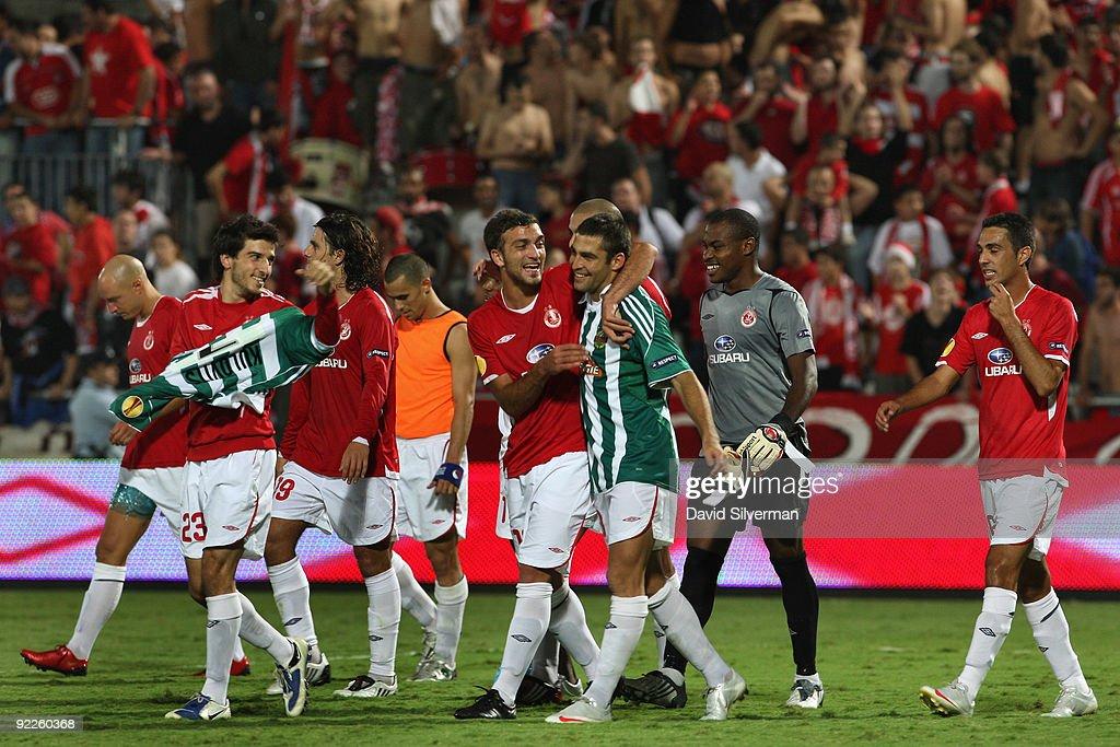 Hapoel Tel-Aviv FC v SK Rapid ...