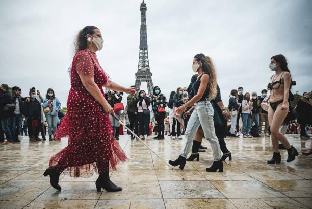 FRA: Fashion Show 'Body Positive' In Paris