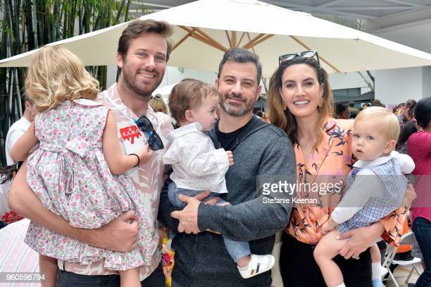 Happer Hammer Armie Hammer Billy Kimmel Jimmy Kimmel Elizabeth Chamber and Ford Hammer attend Hammer Museum KAMP 2018 at Hammer Museum on May 20 2018...