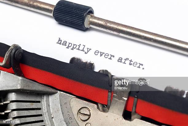 happily ever after - beëindigen stockfoto's en -beelden