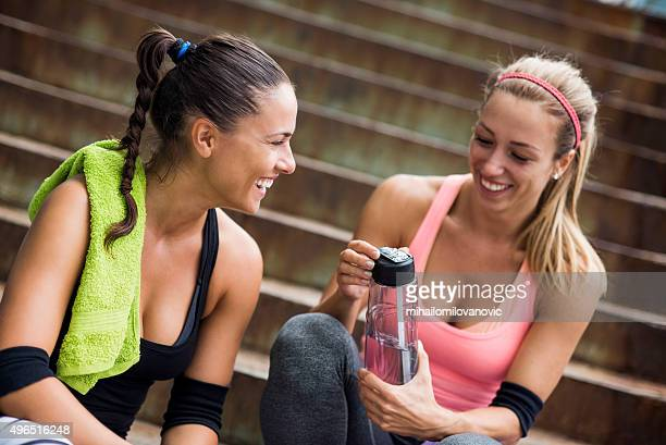 Happiness after training