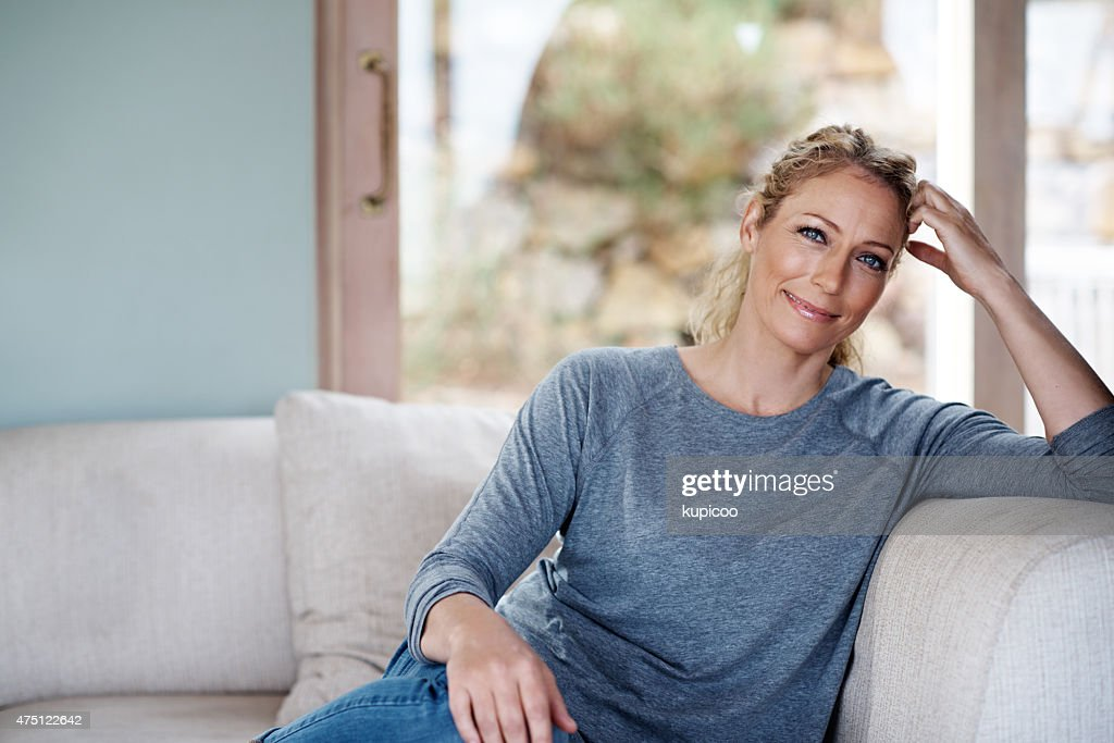 Happiness at home : Stock Photo