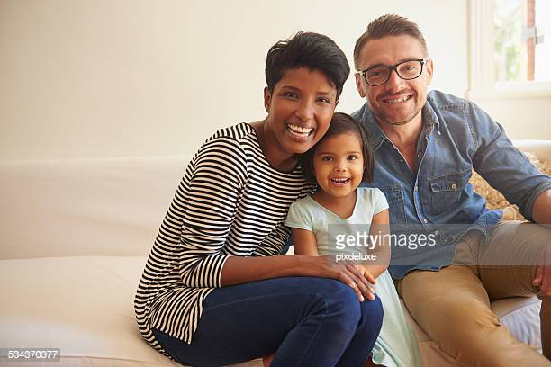 happiness comes from family - mixed race person stock pictures, royalty-free photos & images