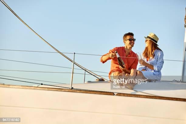 Geluk is een ontspannende zomer cruise