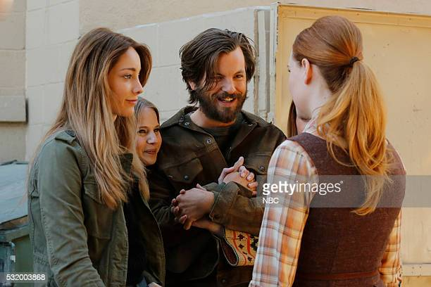 AQUARIUS 'Happiness is a Warm Gun' Episode 202 Pictured Emma Dumont as Emma Karn Whitney Rose Pynn as Minnie Gethin Anthony as Charles Manson