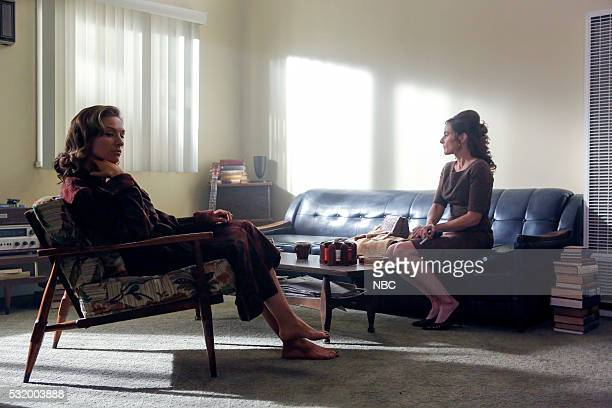 AQUARIUS Happiness is a Warm Gun Episode 202 Pictured Michaela McManus as Grace Karn Jodi Harris as Opal Hodiak