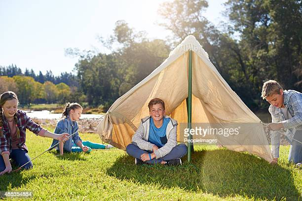 Happiness is… going on a camping trip