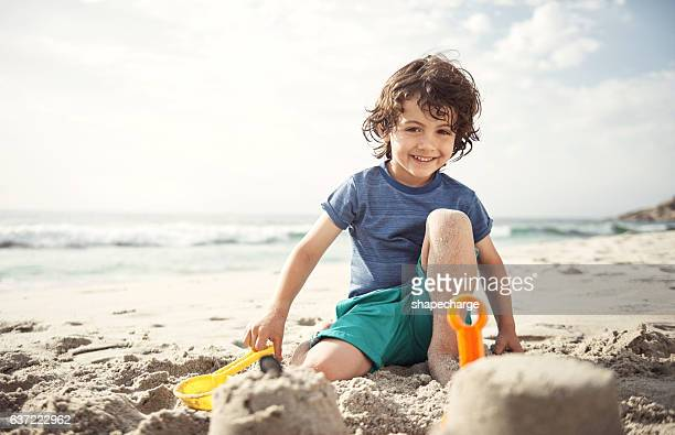 Happiness is sandy toes