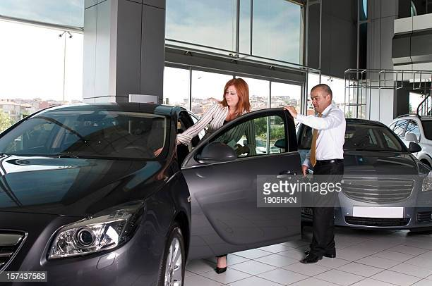 happiness of buying a car