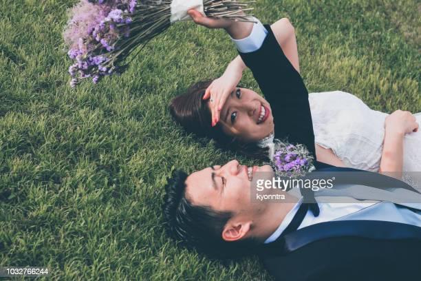 幸福  - 結婚 ストックフォトと画像