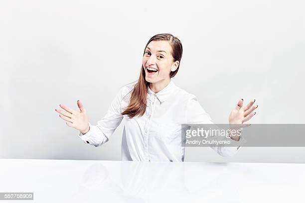 happiness - 白いシャツ ストックフォトと画像