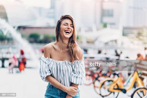happiness - off shoulder stock pictures, royalty-free photos & images