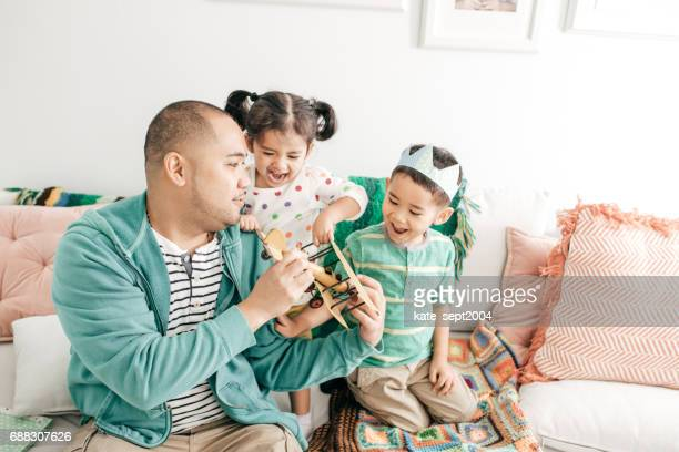 Happiness to be a father