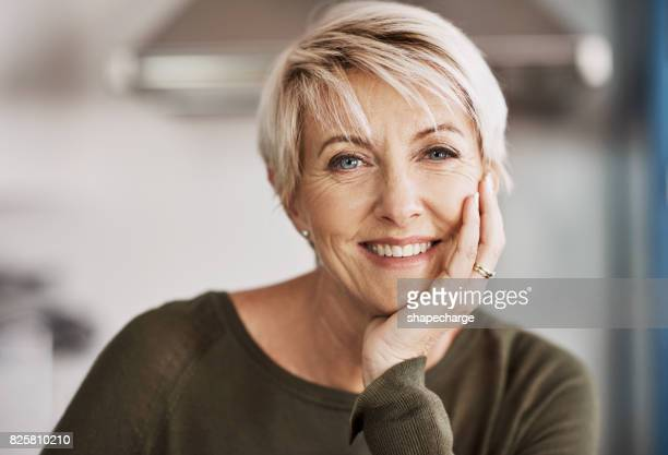 happiness truly does keep the heart young - one mature woman only stock pictures, royalty-free photos & images