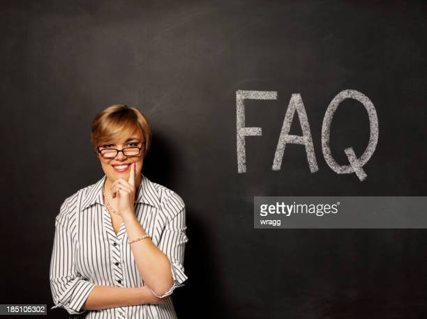 Happy about FAQ on the Blackboard