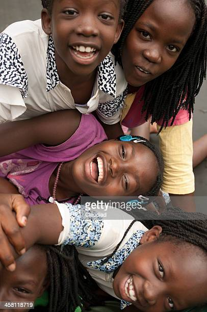 happy african children - uganda stock pictures, royalty-free photos & images