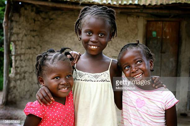 Happy African Girls