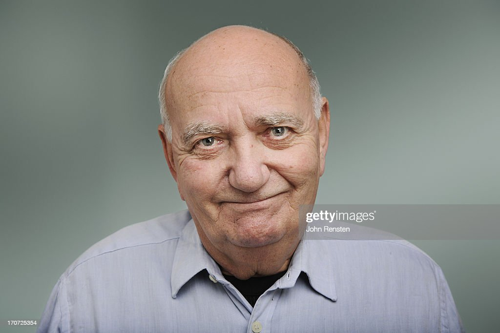 happy and grumpy old men : Stock Photo