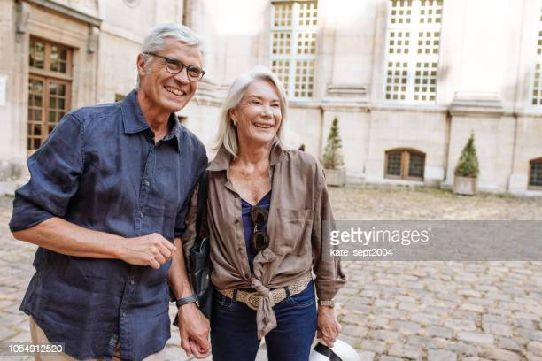 happy and healthy retirement years - life insurance stock pictures, royalty-free photos & images