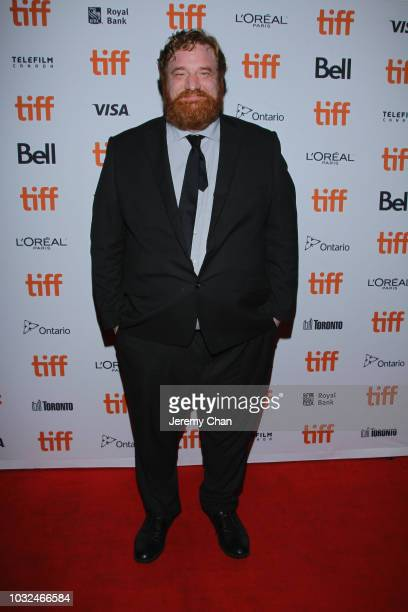 Happy Anderson attends the 'The Standoff At Sparrow Creek' premiere during 2018 Toronto International Film Festival at Ryerson Theatre on September...