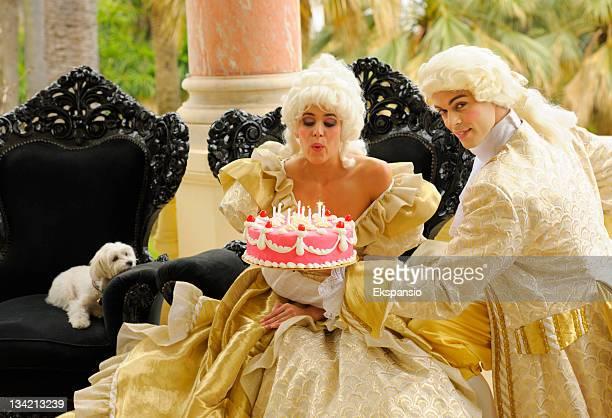 Happy Aristocratic Birthday with Cake