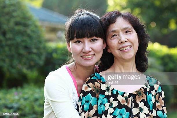 happy asian family - chinese mothers day stock pictures, royalty-free photos & images