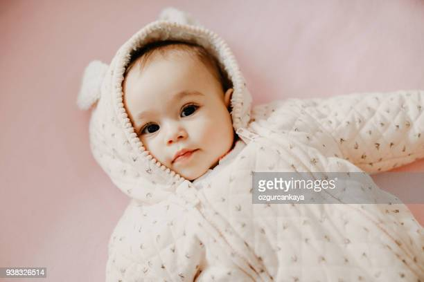 happy baby - beautiful turkish girl stock pictures, royalty-free photos & images
