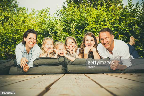 happy big family - large family stock pictures, royalty-free photos & images
