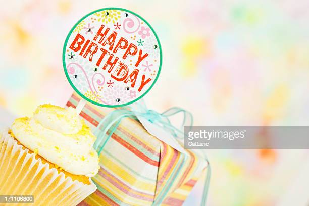 Happy Birthday Cupcakes and Gifts