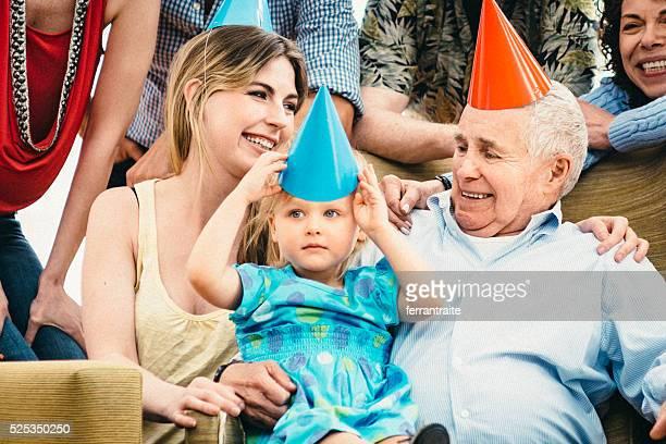 Joyeux anniversaire grand bloc Grandpa!