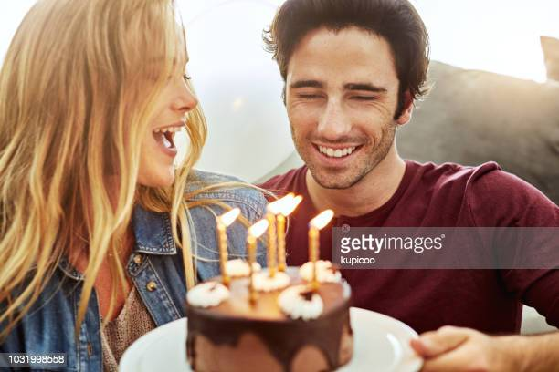 happy birthday to the best husband ever - anniversary stock pictures, royalty-free photos & images