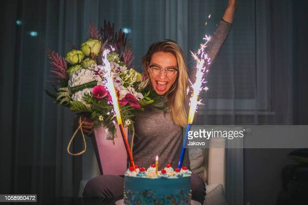Amazing Firework Birthday Candles Stock Pictures Royalty Free Photos Funny Birthday Cards Online Bapapcheapnameinfo