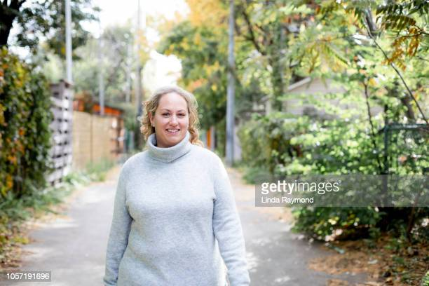 happy body positive woman - chubby stock pictures, royalty-free photos & images