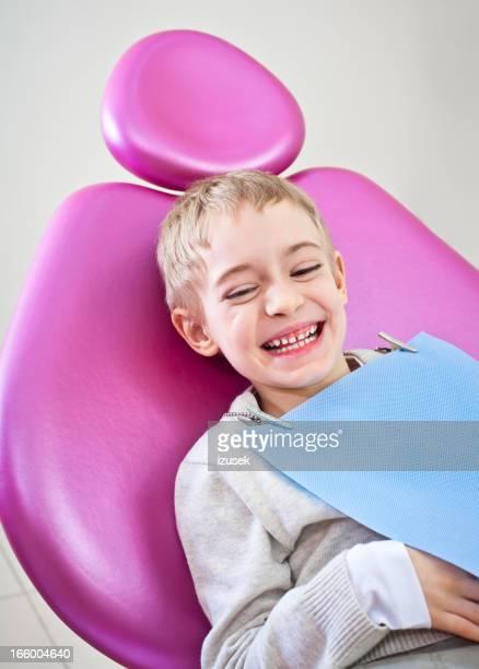 Happy Boy Dental Patient