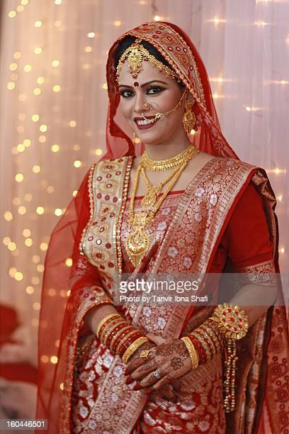 happy bride - bangladesh photos stock photos and pictures