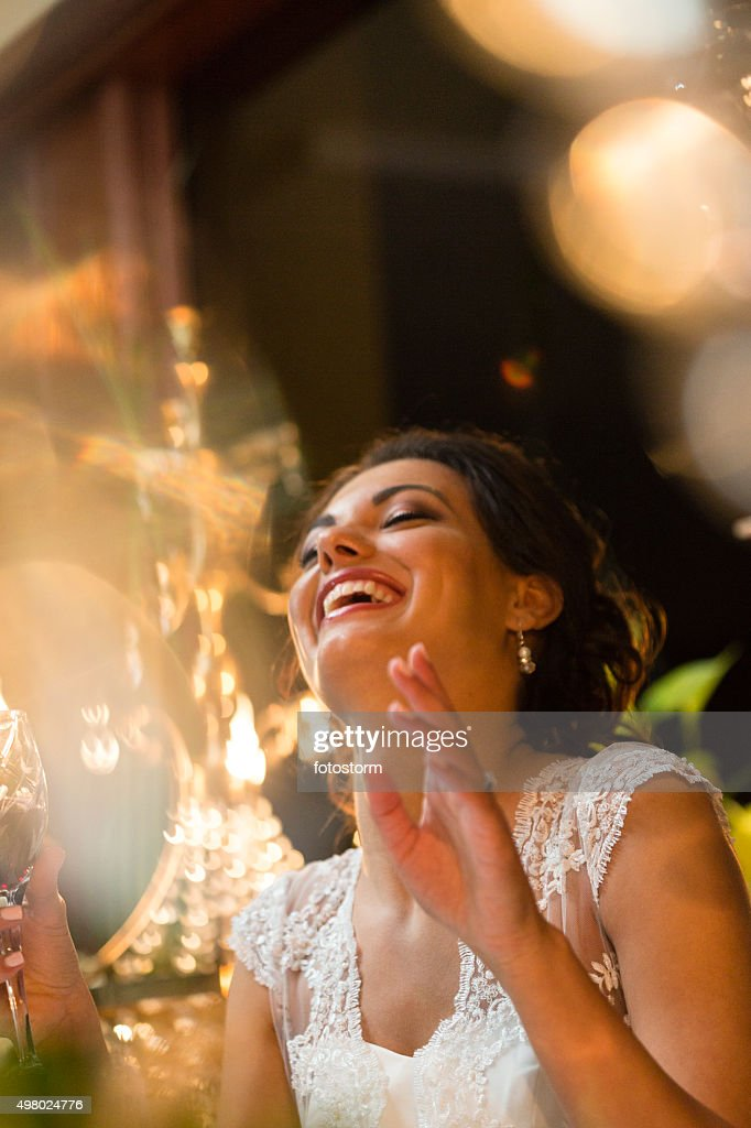 Happy bride : Stock Photo