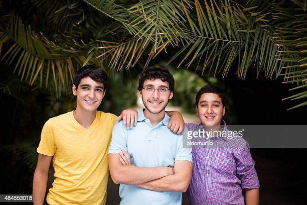 Glücklich Brüder