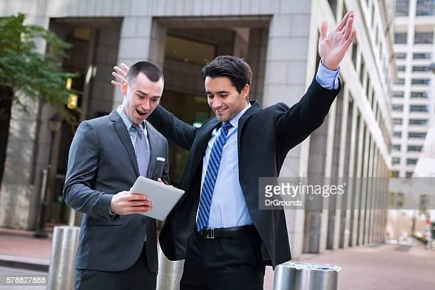 Felices empresarios