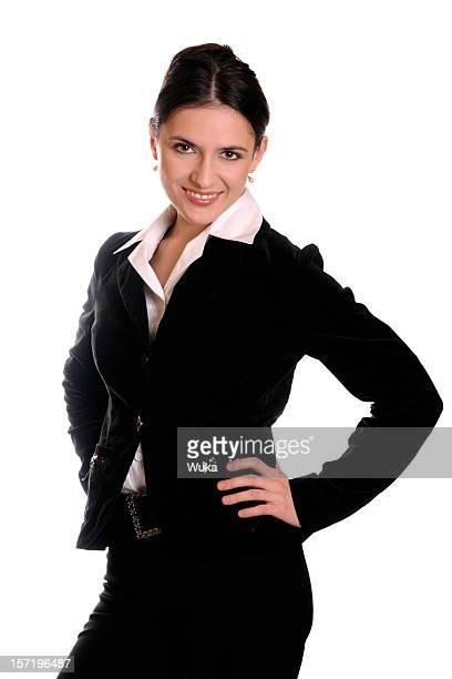 Heureuse Femme d'affaires