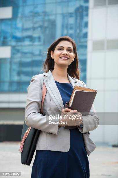 happy businesswoman - stock image - south asia stock pictures, royalty-free photos & images