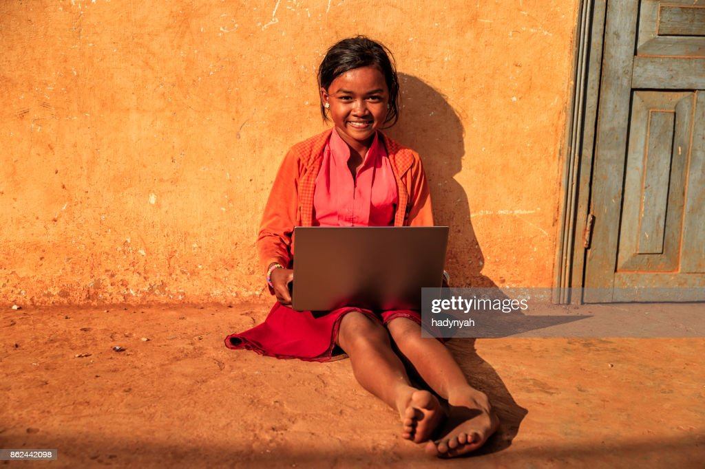 Cambodian girl | Girl in a small village outside of Pursat