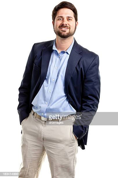 Happy Casual Businessman
